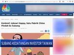 Subang Kedatangan Investor Taiwan