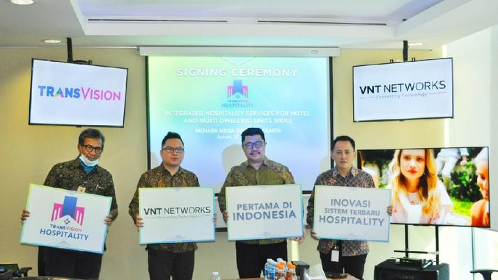 MoU terkait TransVision Hospitality (T-HOS)