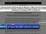 2 Warga Negara China Dituduh Curi Data Covid-19