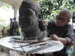 Mengintip Deretan Karya Maestro Pematung Realis Azmir Azhari