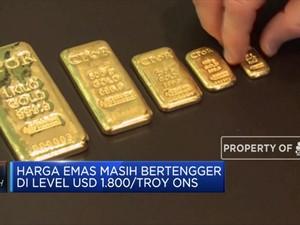 Bank Sentral Gelontorkan Stimulus, Harga Emas Kembali Melesat