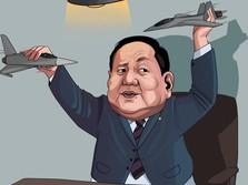 Balada Prabowo Sudah Keliling Belum Dapat Jet-Kapal Selam