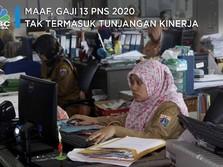 Maaf, Gaji 13 PNS 2020 Tak Termasuk Tunjangan Kinerja