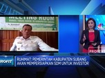 Pemda Subang Dorong Kontribusi BUMD di Proyek Investasi Asing
