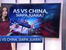 AS vs China, Siapa Juara?