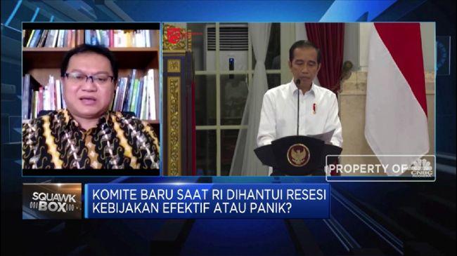 CSIS Jokowi Ingin Pulihkan Ekonomi, Ini Pesan CSIS