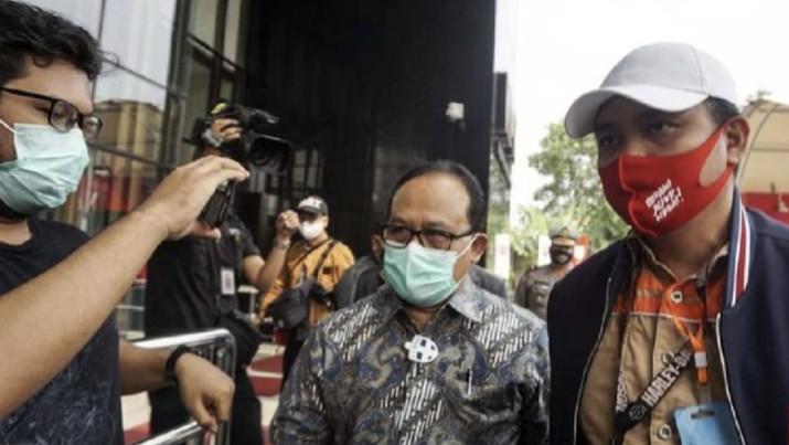 Direktur Utama PT Waskita Beton Precast Jarot Subana (CNN Indonesia/Ryan Hadi Suhendra)