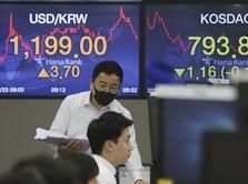 Berubah Arah, Tiba-tiba Bursa Asia Kompak Memerah