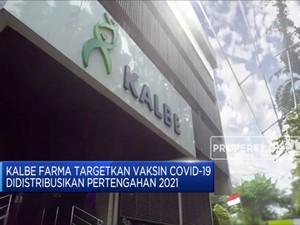 Kalbe Farma: Vaksin Covid-19 Didistribusikan Pertengahan 2021