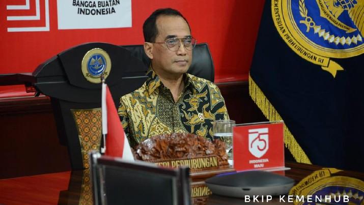 Menteri Perhubungan Budi Karya Sumadi (Kemenhub)