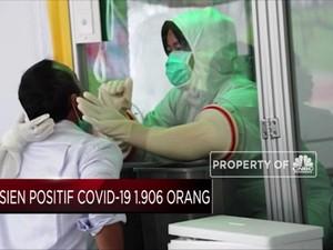 Pasien Covid-19 Indonesia Bertambah 1.906 Orang