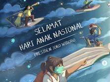 Hari Anak Nasional, Ini Pesan Jokowi ke Anak Indonesia