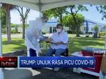 Trump: Unjuk Rasa Picu Covid-19 Naik di AS