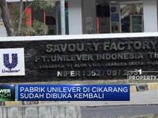 Tutup Akibat Corona, Pabrik Unilever Cikarang Sudah Buka Lagi