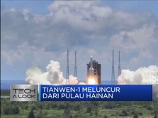Wow! China Meluncur ke Mars