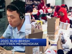 H1-2020, Rugi Bersih Smartfren Membengkak