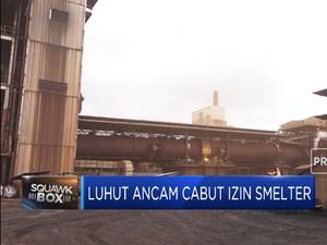Luhut Ancam Cabut Izin Smelter