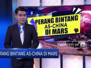 Perang Bintang AS-China di Mars