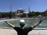 Heboh Foto Jadul Jokowi, Kejar-kejaran ke Mars, Hagia Sophia