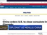 Konjen Ditutup, Diplomat AS Menuju China