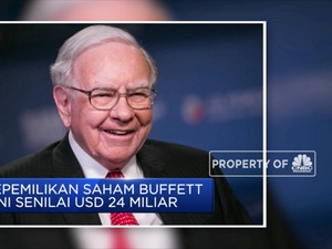 Warren Buffet Borong Saham Bank of America