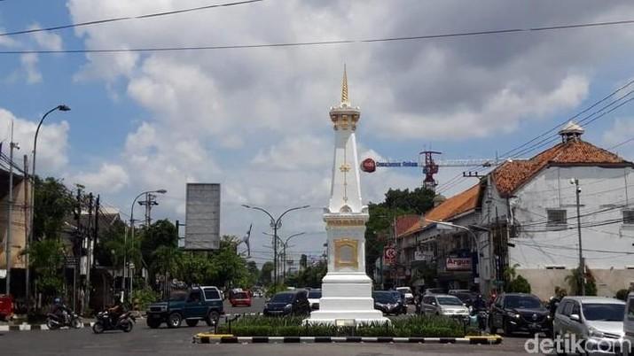 Tugu Jogja (Foto: Usman Hadi/detikcom)