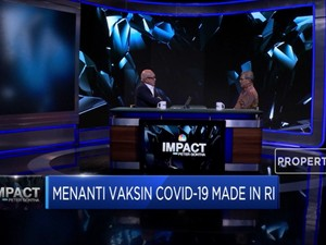 Achmad Yurianto Beberkan Progres Vaksin Covid-19 Made In RI