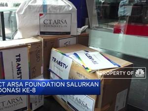 ARSA Foundation Salurkan Donasi Ke-8
