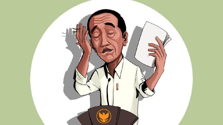 INFOGRAFIS, Jokowi Kecewa Stimulus Covid-19 Baru Terserap 19%