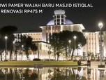 Jokowi Pamer Wajah Baru Masjid Istiqlal Usai Renovasi Rp475 M