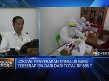 Jokowi Singgung Pencairan Stimulus Covid 19 Masih Lambat