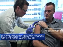 Moderna Dapat Hibah Dana Riset Vaksin Corona Lagi