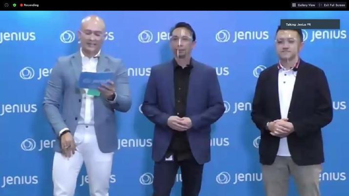 Peluncuran Fitur QR Jenius (Tangkapan Layar)