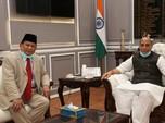 Menhan India Bercakap via Telepon dengan Prabowo, Bahas Apa?