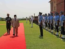 Usai Turki, Ini Penampakan Menhan Prabowo Kunjungi India