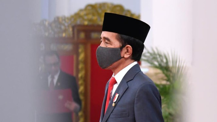 Presiden Joko Widodo (Jokowi) saat Pelantikan Gubernur Kepulauan Riau. (Biro Pers Sekretariat Presiden/Lukas)