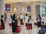 Intip Kedatangan Gelombang Pertama Jamaah Haji 2020 di Jeddah