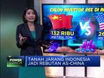 Tanah Jarang Indonesia Jadi Rebutan AS-China