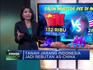 Tanah Jarang Indonesia Jadi Rebutan AS-China