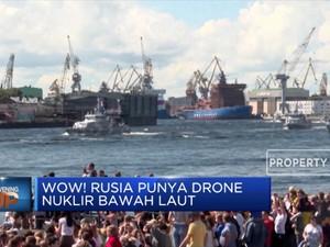 Wow! Rusia Punya Drone Nuklir Bawah Laut