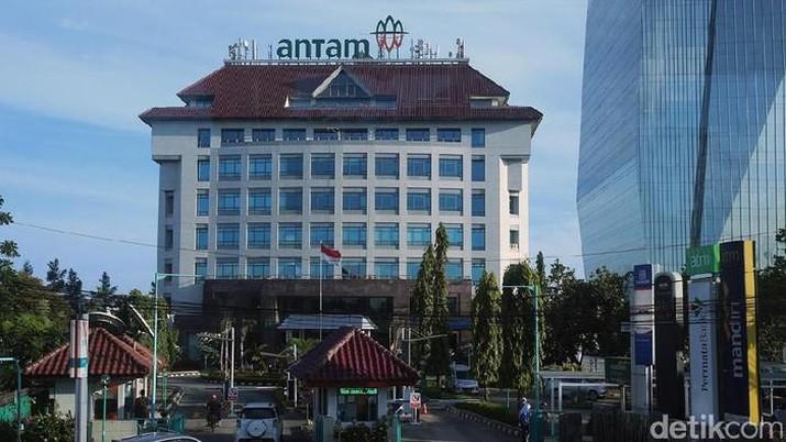 Gedung Antam (detikcom/Ari Saputra)