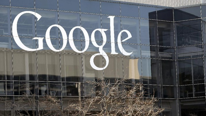 FILE - Google's headquarters in Mountain View, Calif., is shown Thursday, Jan. 3, 2013. Google has decided that most of its 200,000 employees and contractors should work from home through next June, a sobering assessment of the pandemic's potential staying power from the company providing the answers for the world's most trusted internet search engine. The remote-work order issued Monday, July 27, 2020, by Google CEO Sundar Pichai also affects other companies owned by Google's corporate parent, Alphabet Inc. It marks a six-month extension of Google's previous plan to keep most of its offices closed through the rest of this year.