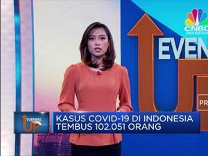Kasus Covid-19 di Indonesia Tembus 102.051 Orang