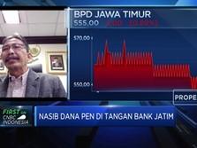 Dapat Dana PEN Rp 2 T, Bank Jatim Siap Tebar Pinjaman Baru
