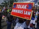 Lagi! Buruh Geruduk Gedung DPR Tolak Keras Omnibus Law Cilaka