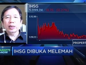 Dibuka Melemah, IHSG Sulit Tembus Level Resisten 5.150
