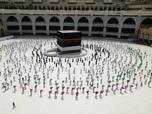 Tertib & Rapih, Begini Social Distancing Ibadah Haji Mekah