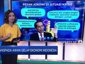 Jokowi Wanti-Wanti Awan Gelap Ekonomi Selimuti RI