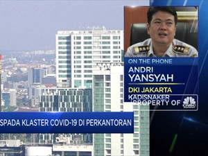 Klaster Covid-19 Perkantoran, Disnaker DKI Tutup 8 Perusahaan