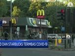 McD dan Starbucks Terimbas Covid-19